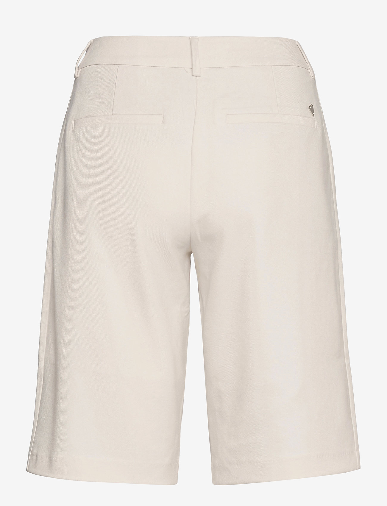 MOS MOSH - Gio Twiggy Bermuda Shorts - bermudas - ecru - 1