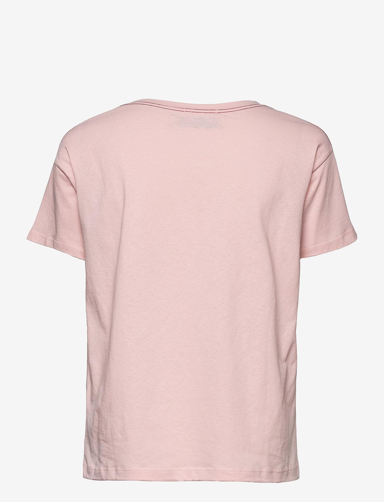 MOS MOSH - Mex O-SS Tee - t-shirts - peachskin - 1