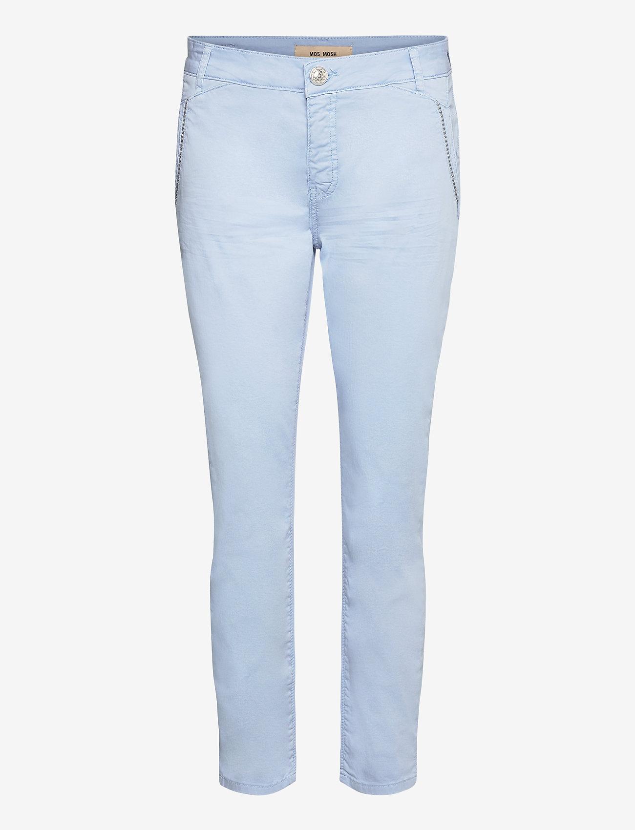 MOS MOSH - Etta Relic Pant - chinos - chambray blue - 0