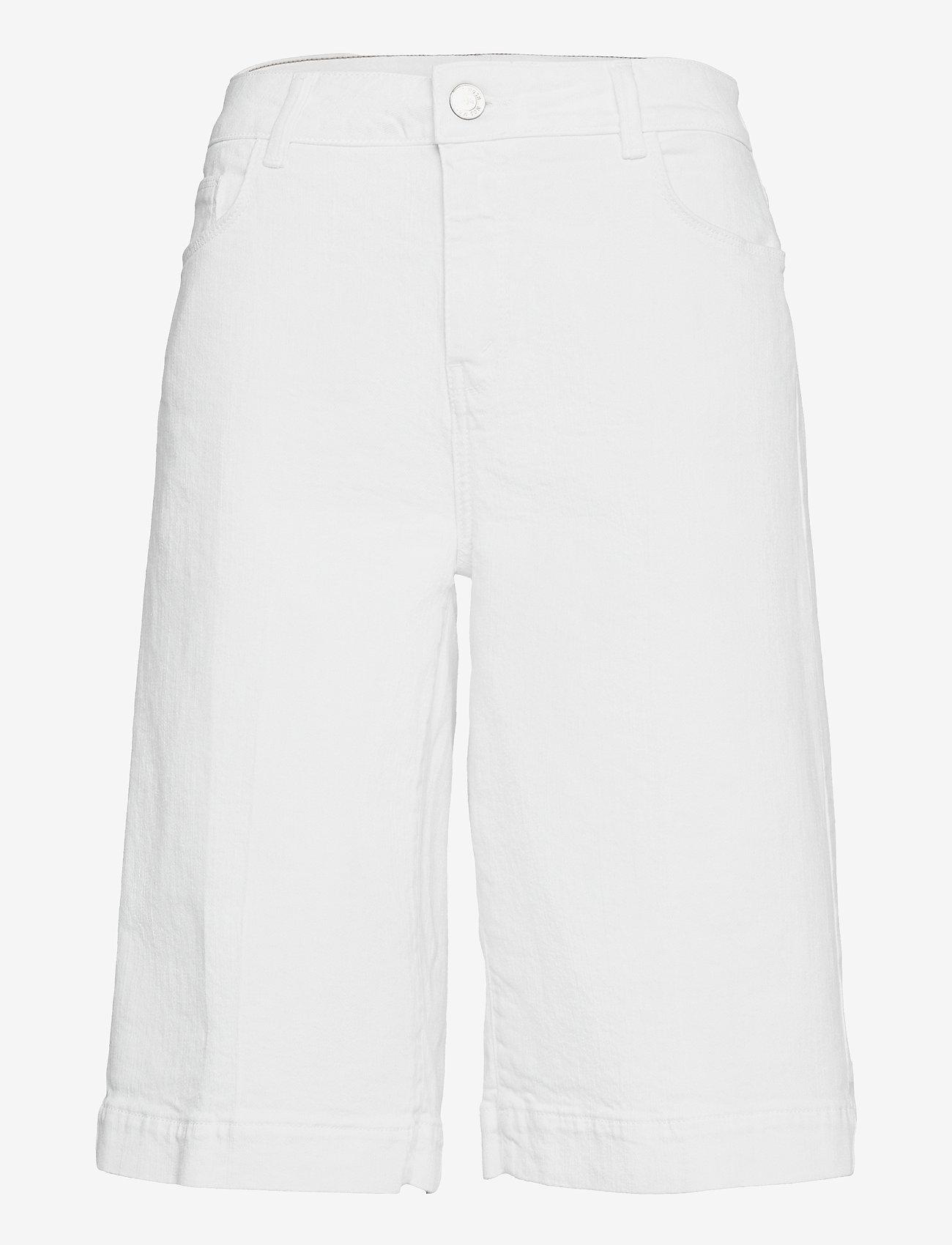 MOS MOSH - Zoe White Skirt Short - bermudas - white - 0