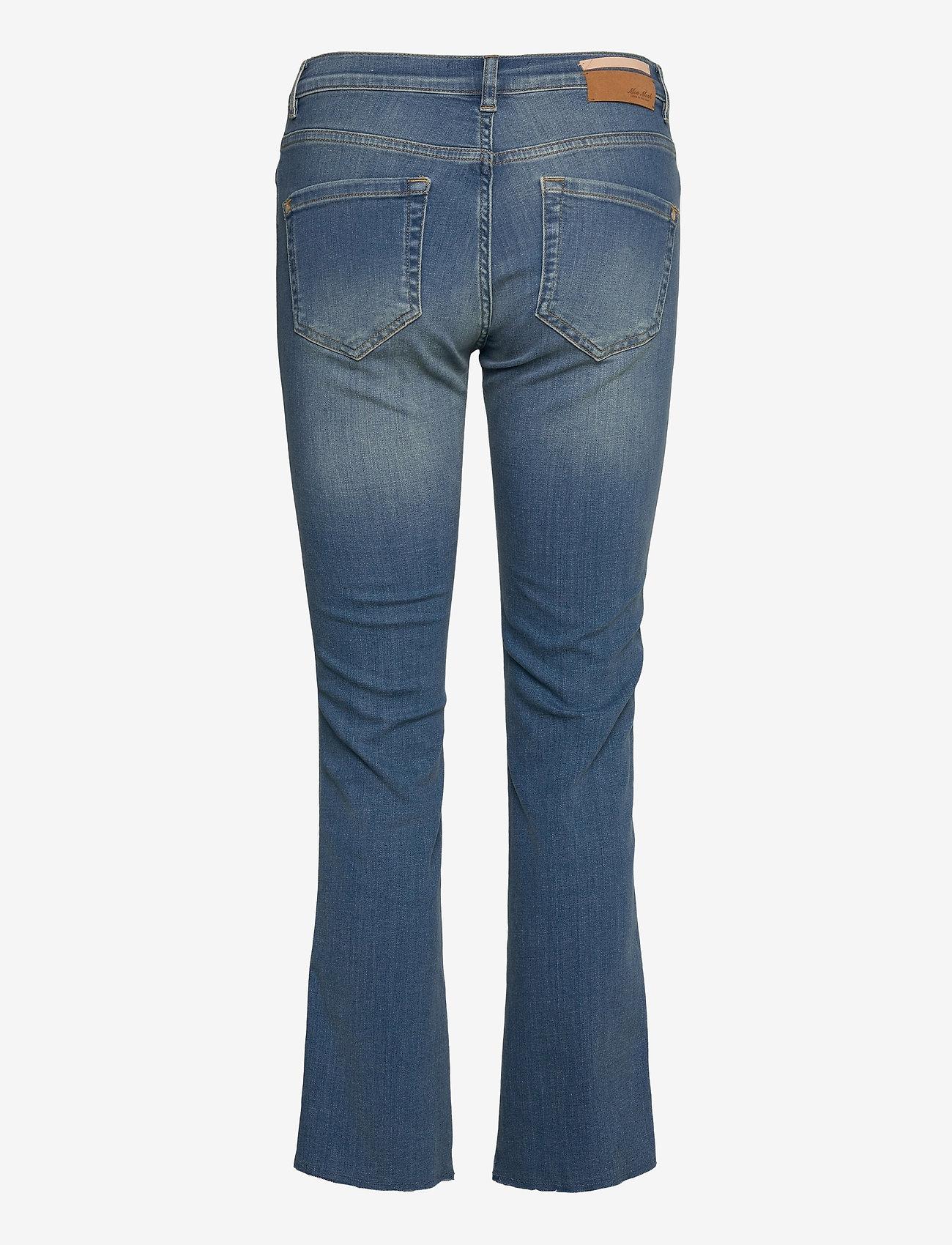 MOS MOSH - Ashley Braid Jeans - schlaghosen - blue - 1