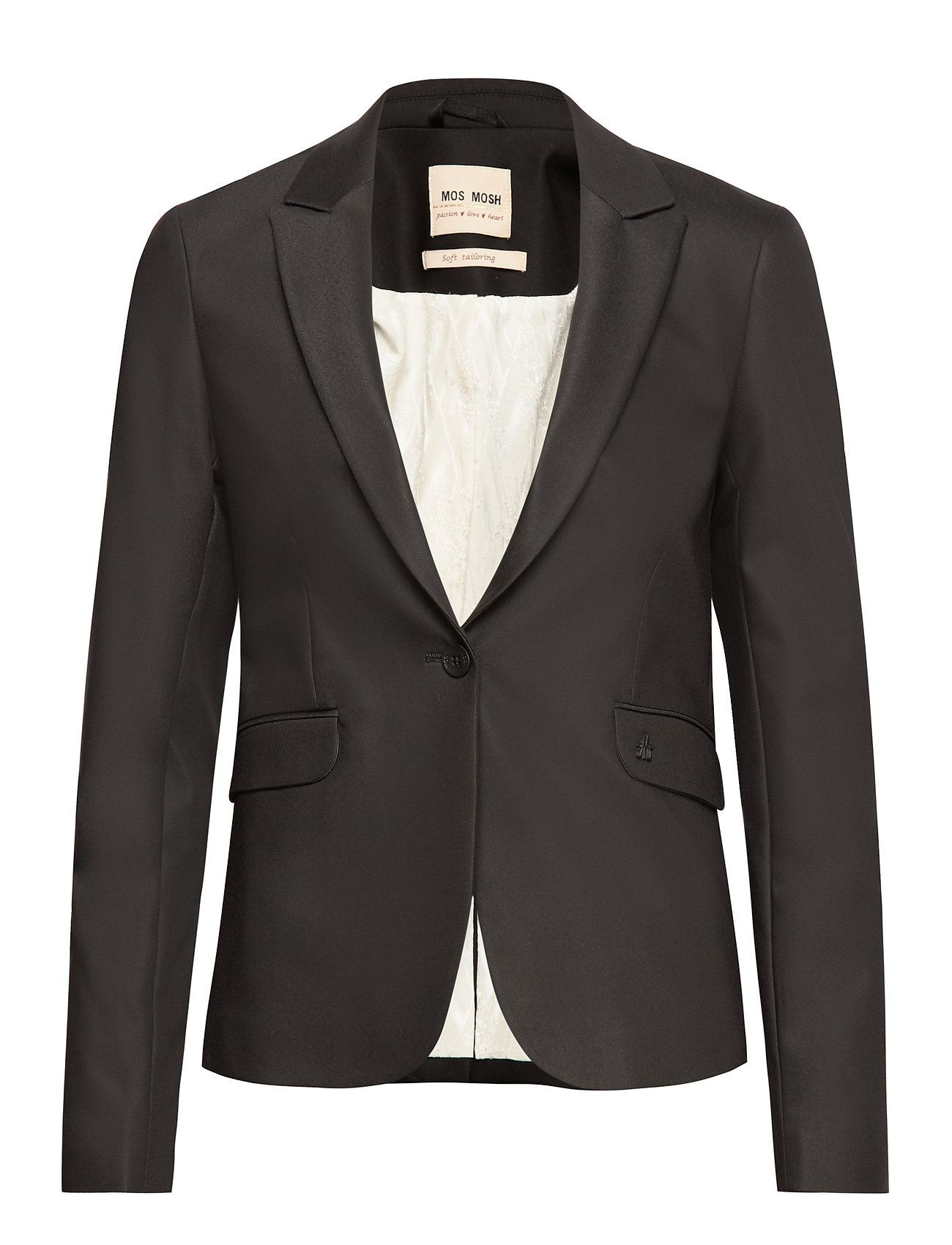 MOS MOSH Blake Night Blazer Sustainable - BLACK