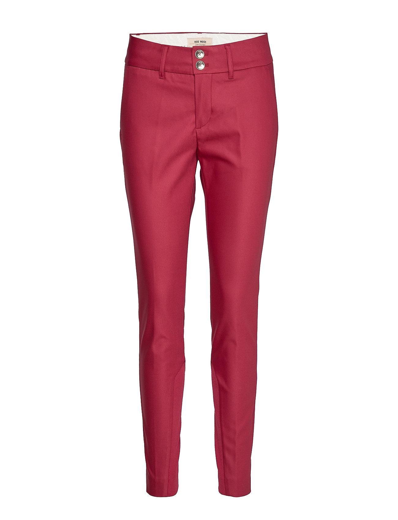 MOS MOSH Blake Night Pant Sustainable - COURAGE RED