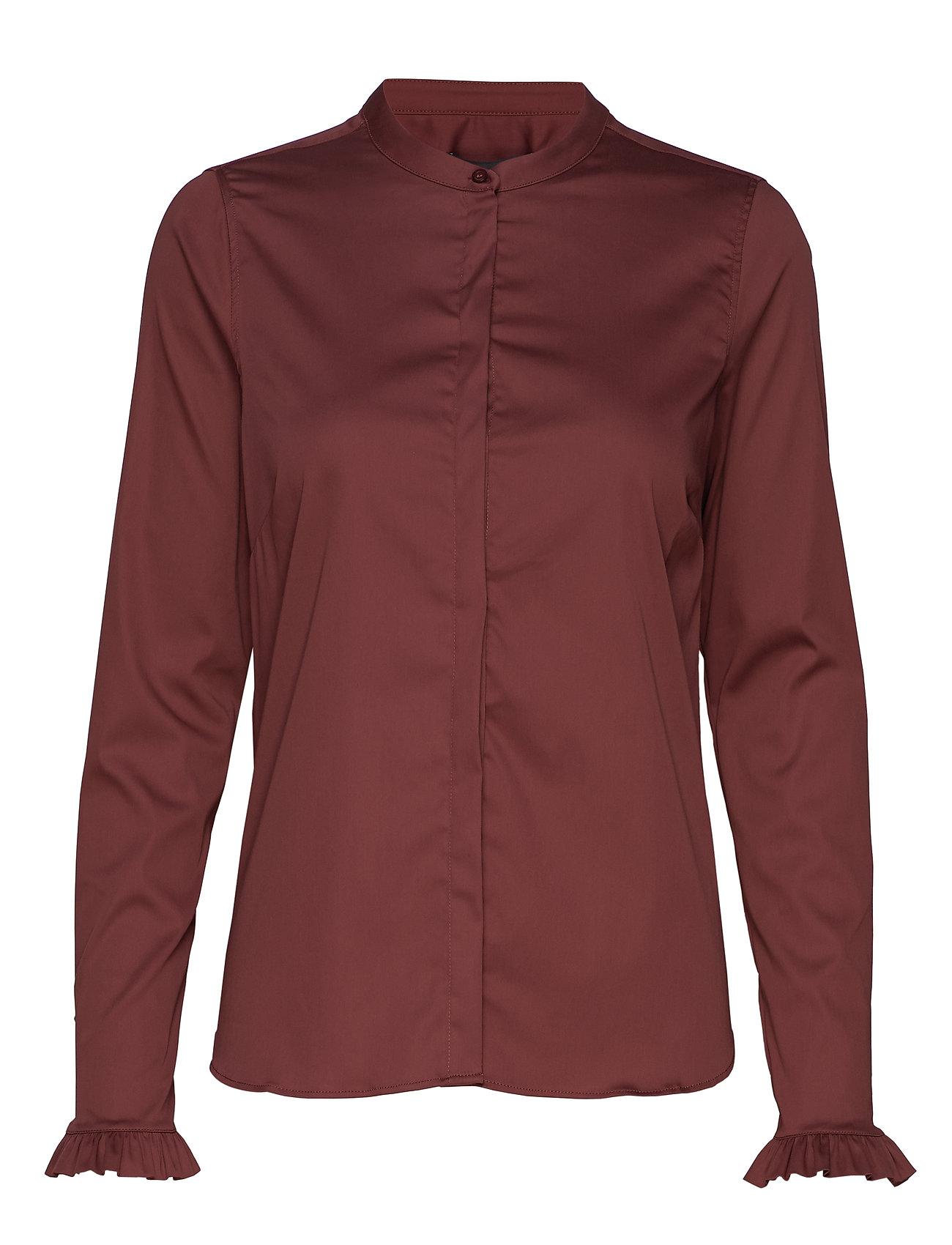 MOS MOSH Mattie Shirt - WILD PLUM