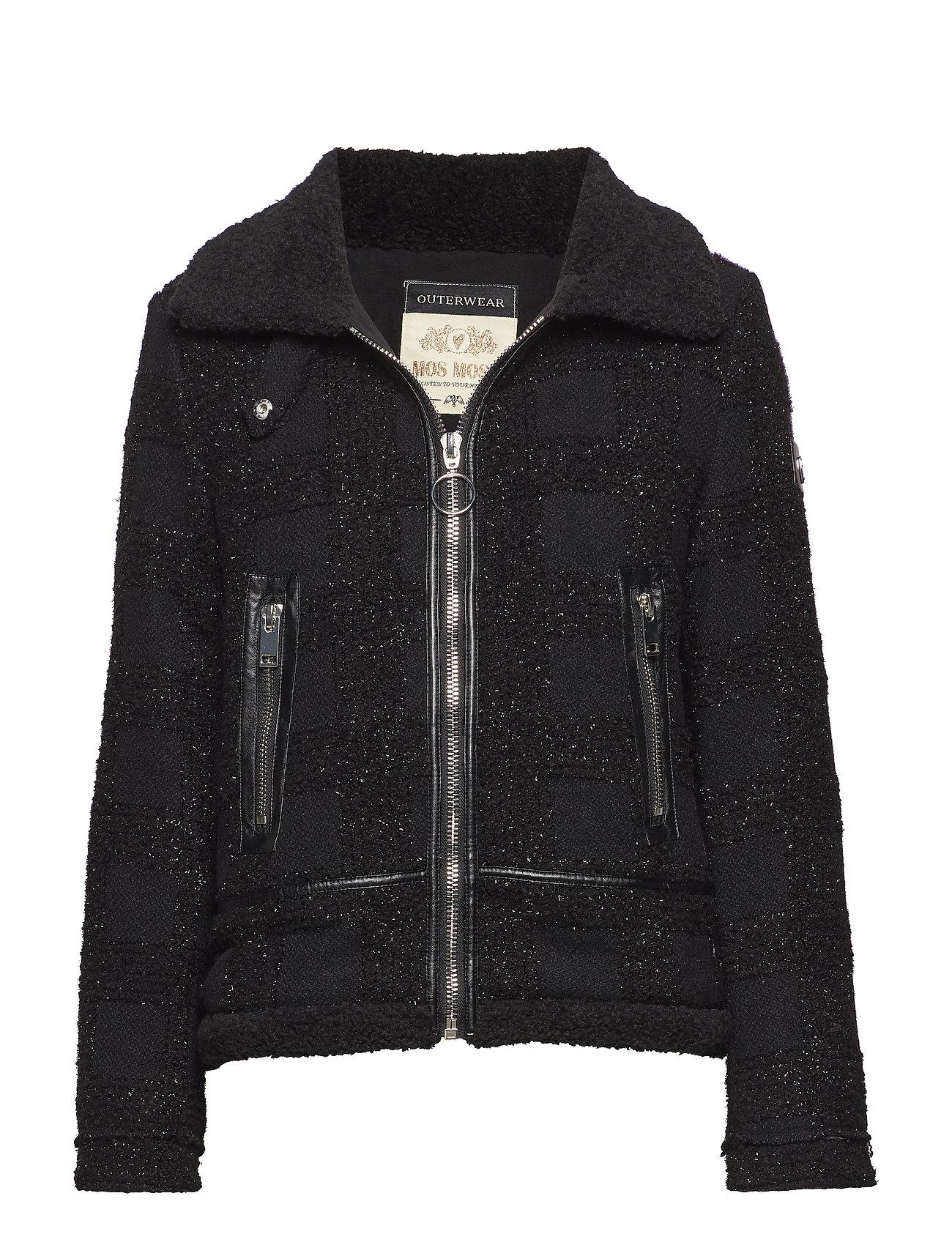 MOS MOSH Robin Shine Jacket - BLACK