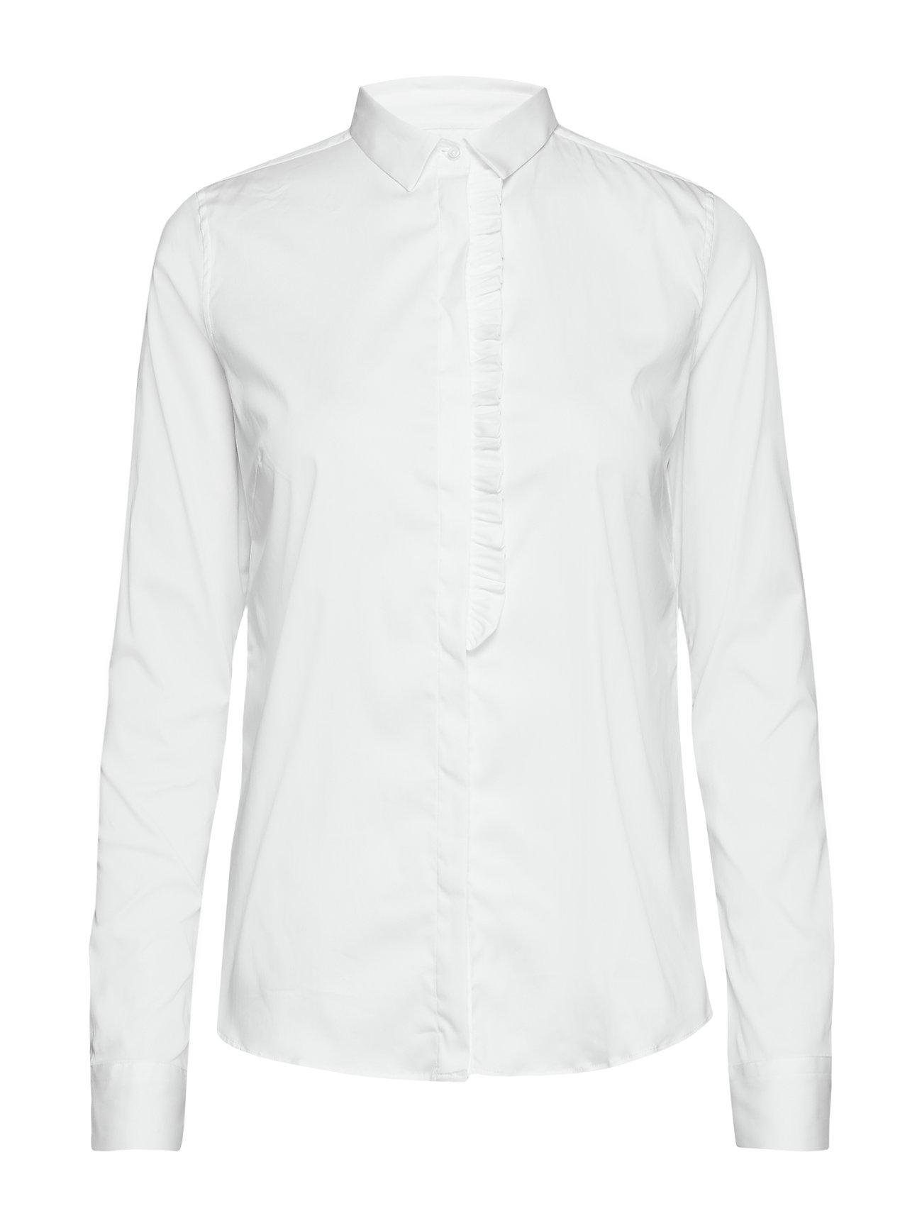 MOS MOSH Tilda Frill Shirt - WHITE