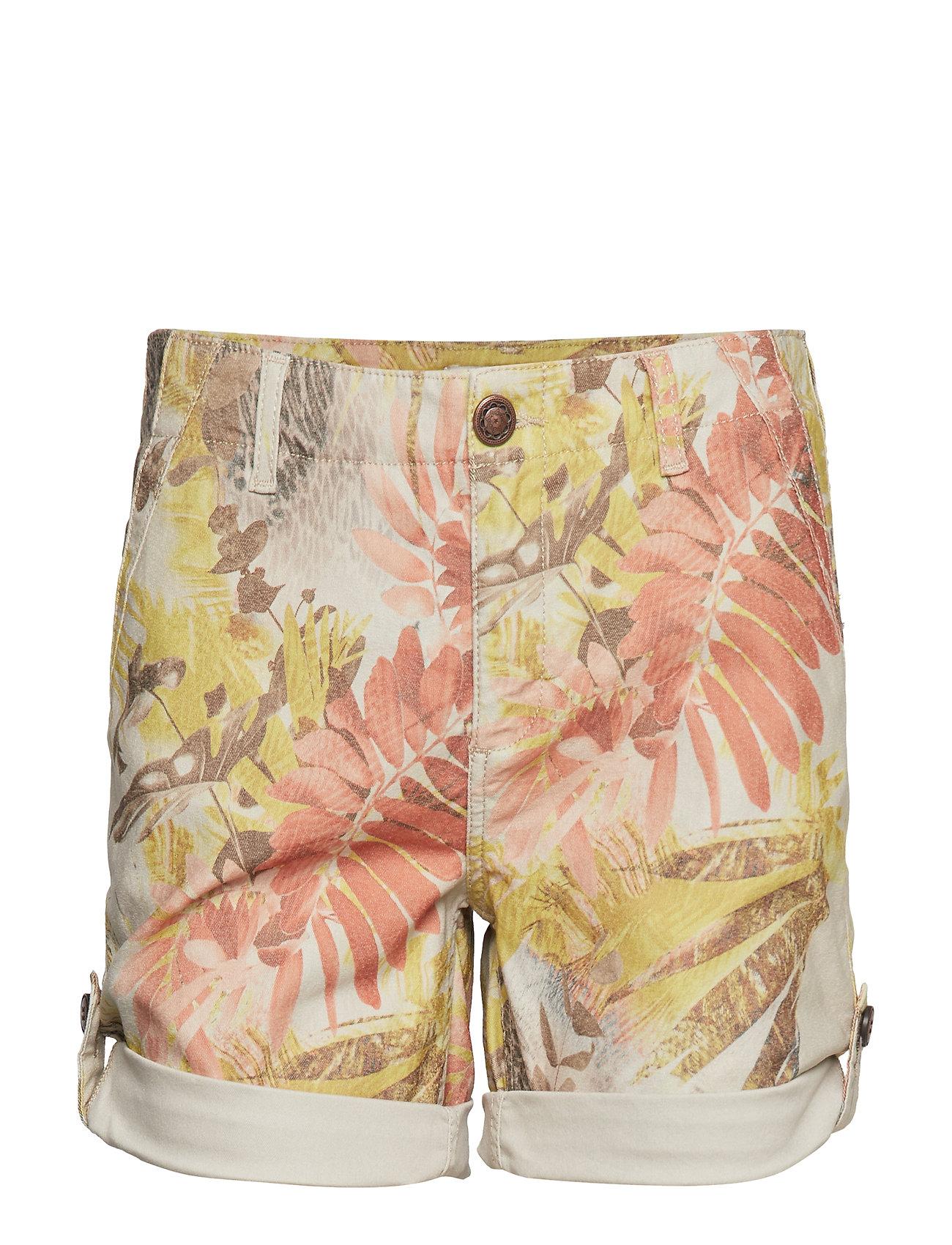 MOS MOSH Freya Cape Shorts - CASHEW FLOWER