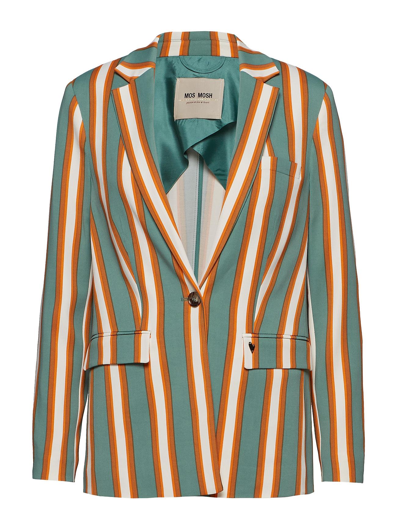 MOS MOSH Cobb Stripe Blazer - GREEN BAY STRIPE