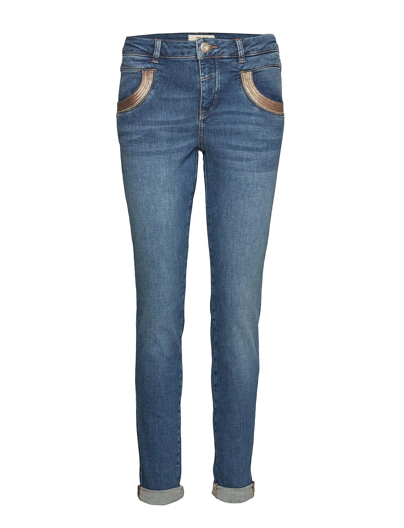 MOS MOSH Naomi Cube Jeans - BLUE DENIM