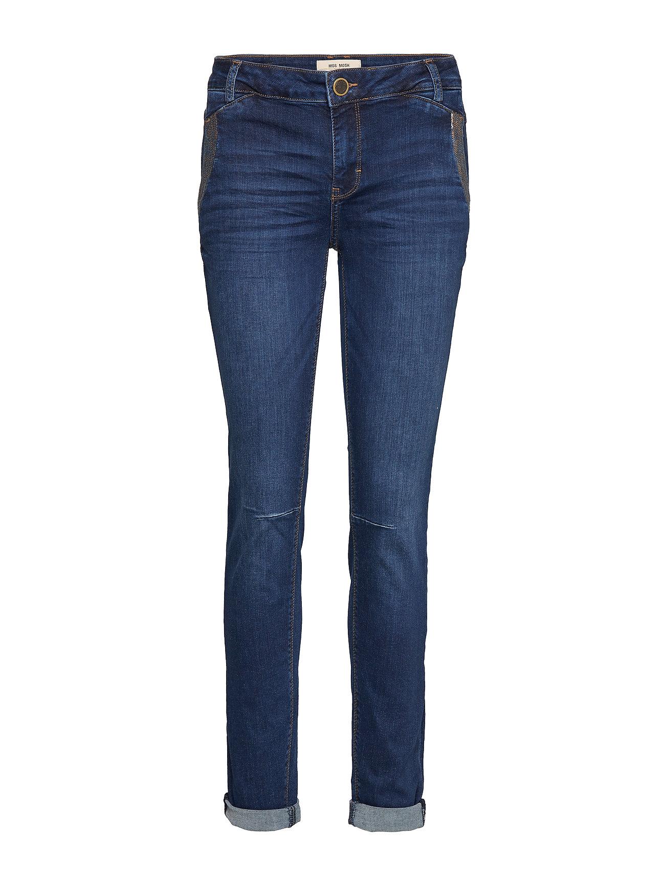 MOS MOSH Etta Reef Jeans - BLUE DENIM