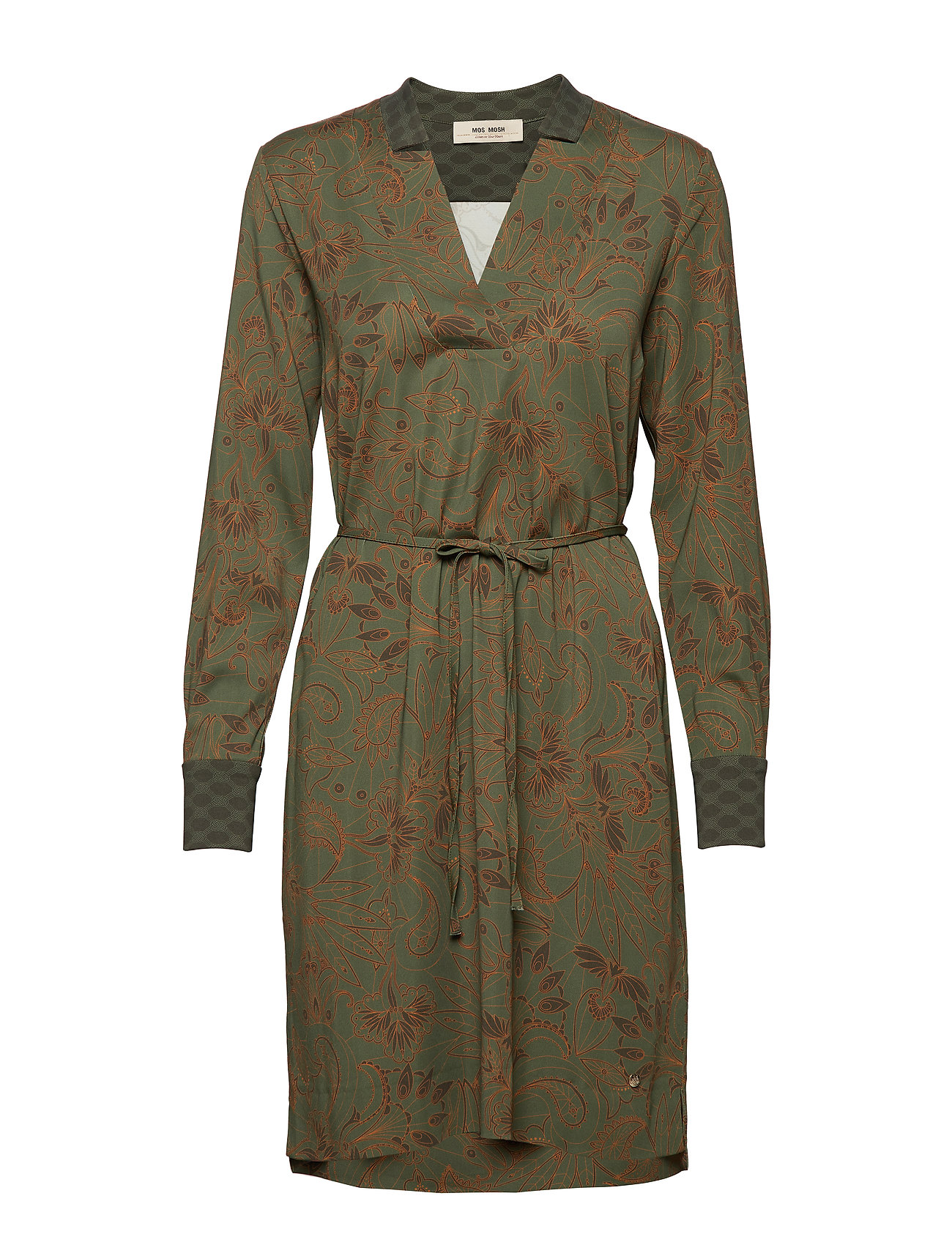 MOS MOSH Lipa Marrakech Dress - FOREST NIGHT PRINT