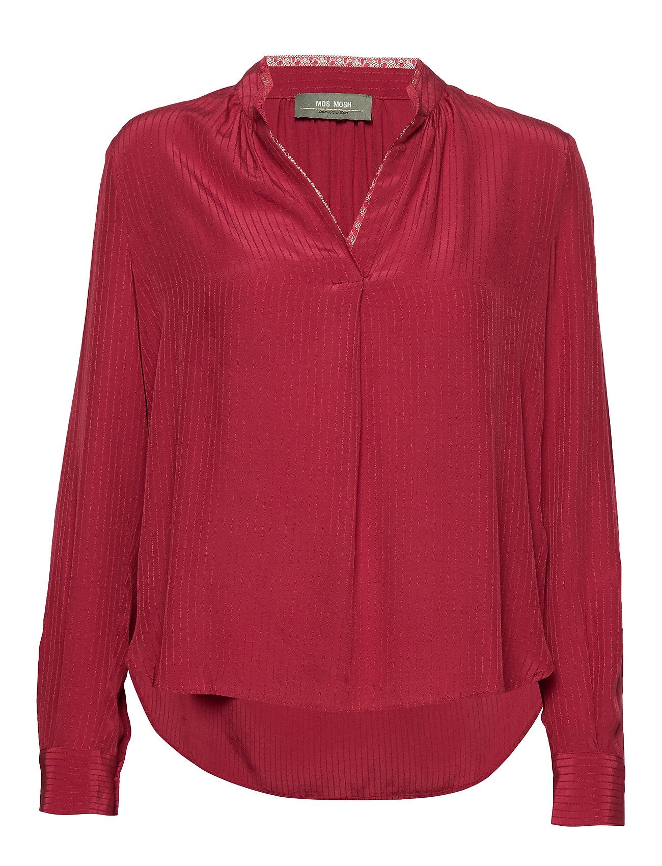MOS MOSH Tarin Blouse - COURAGE RED