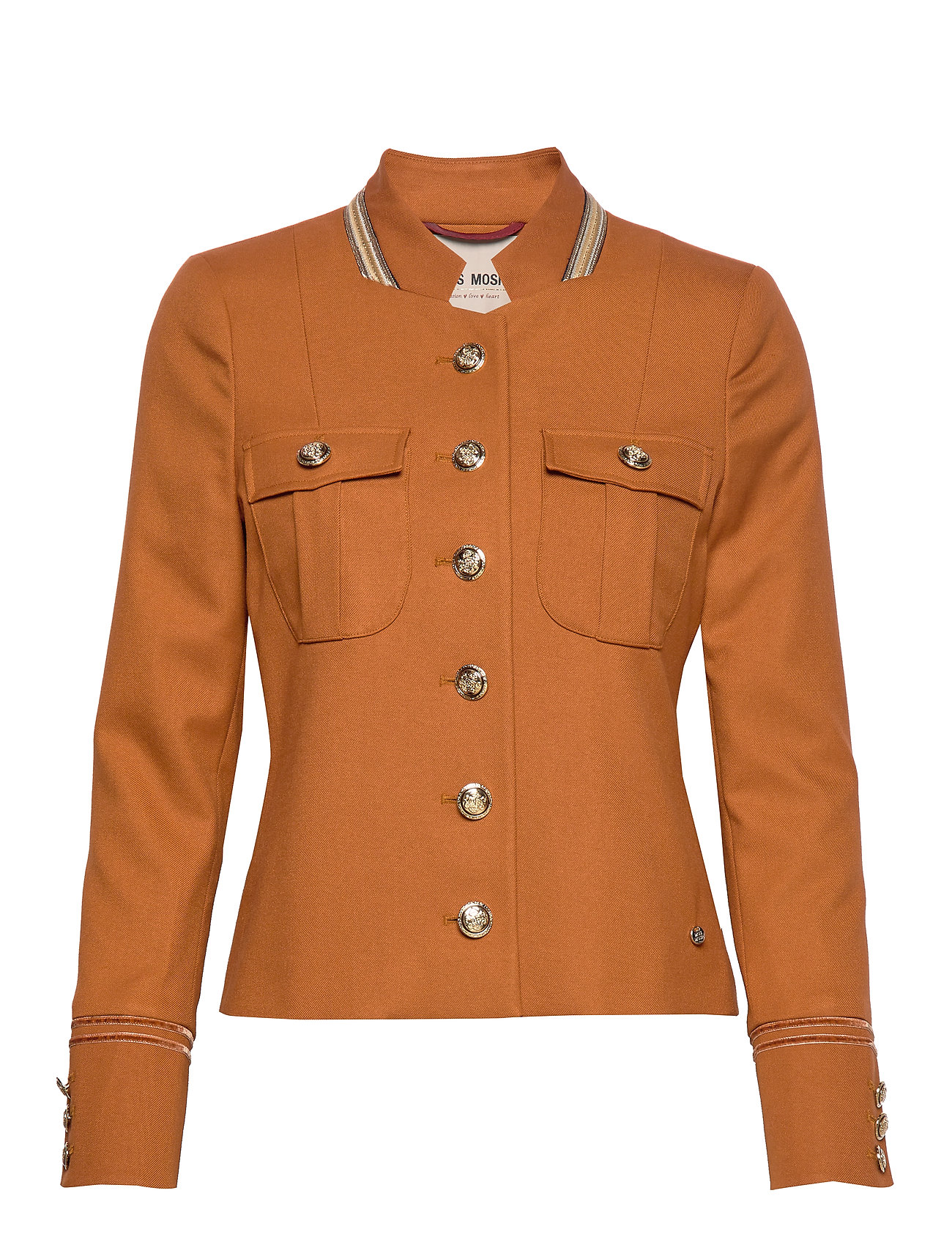 MOS MOSH Selby Twiggy Jacket - ROASTED PECAN