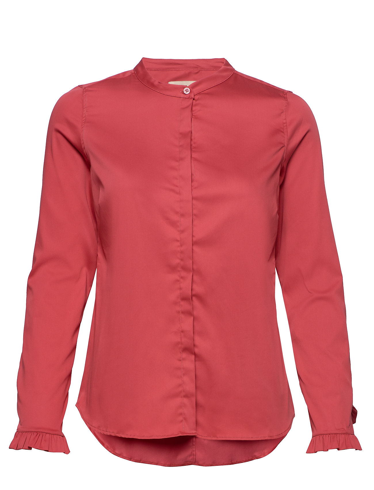 Image of Mattie Sustainable Shirt Langærmet Skjorte Rød MOS MOSH (3351891089)