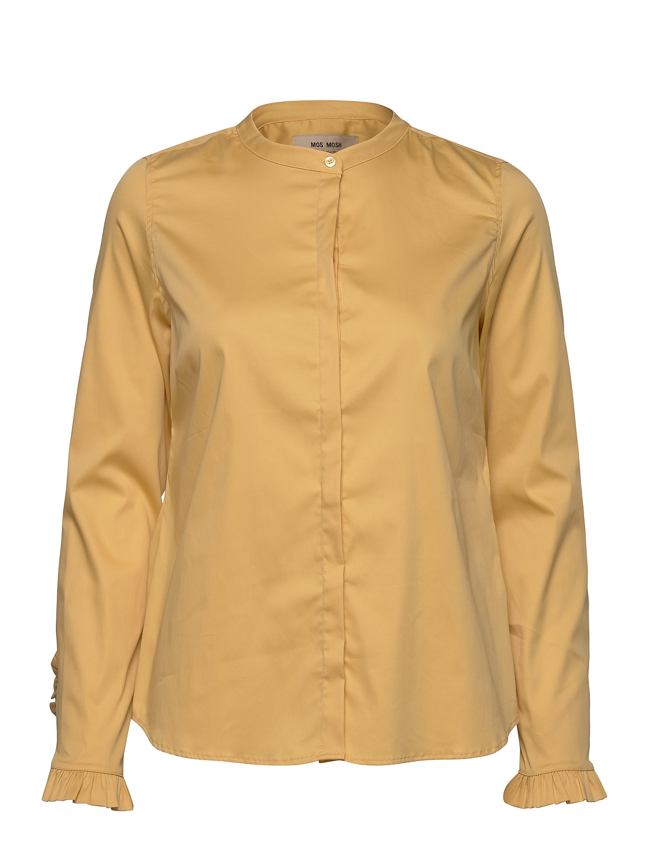 Image of Mattie Sustainable Shirt Langærmet Skjorte Gul MOS MOSH (3341056637)