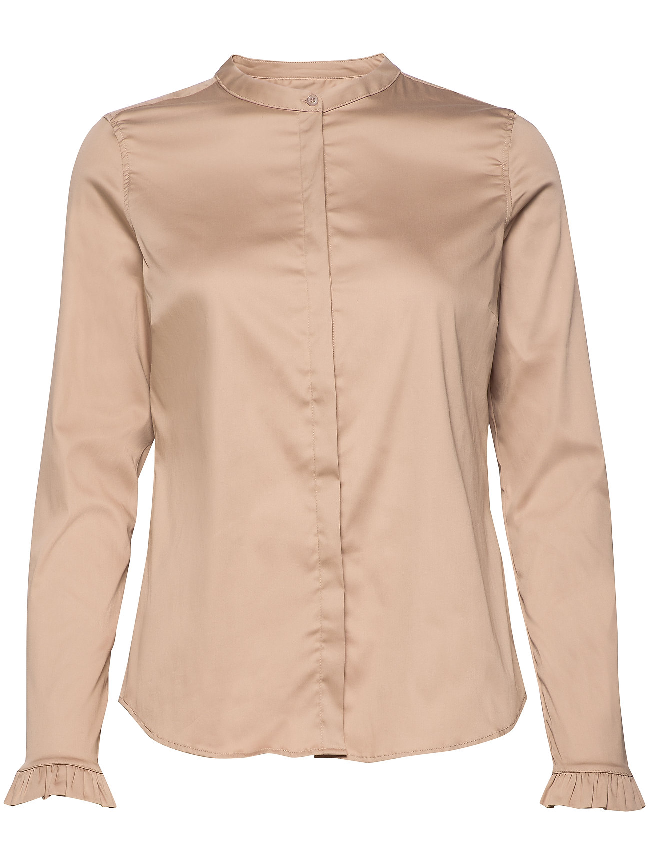 Image of Mattie Sustainable Shirt Langærmet Skjorte Beige MOS MOSH (3427734413)