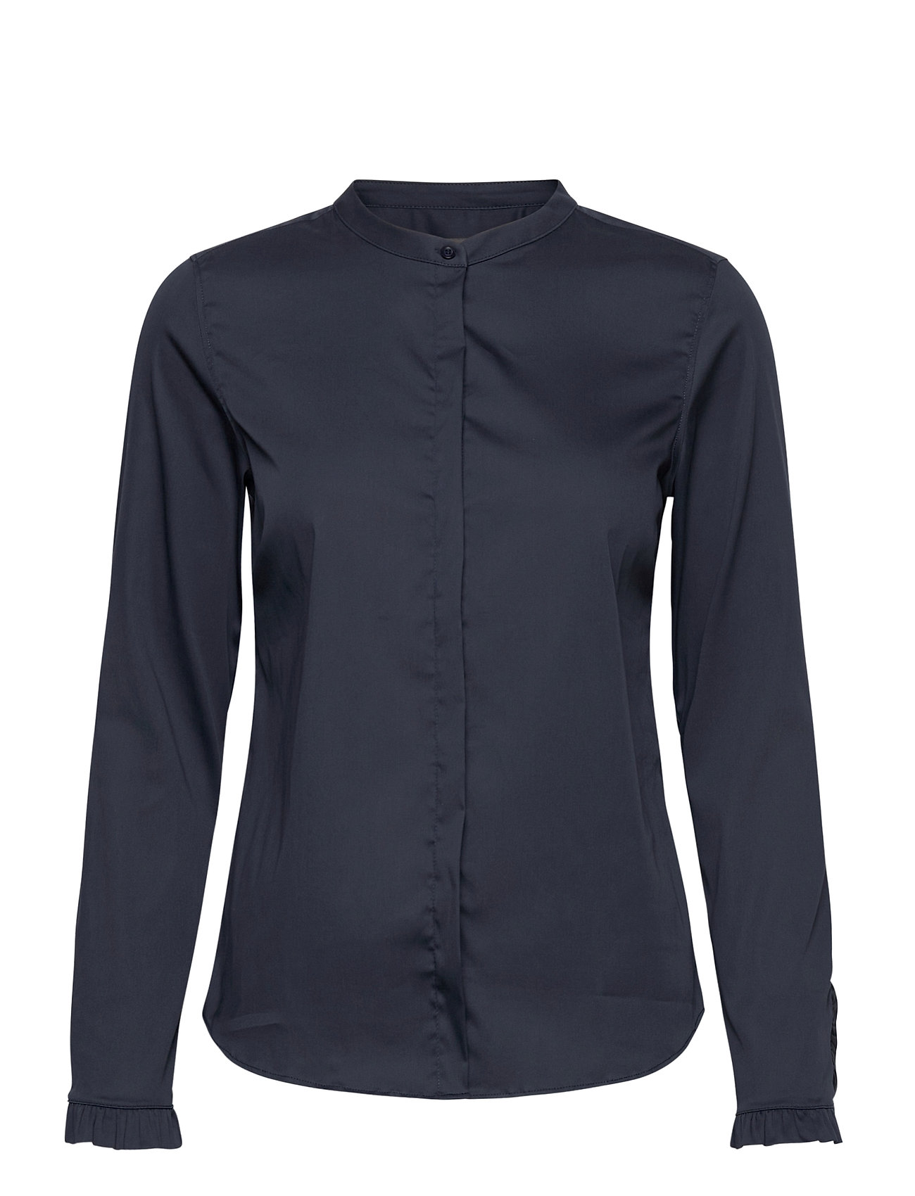 Image of Mattie Sustainable Shirt Langærmet Skjorte Blå MOS MOSH (3453850835)