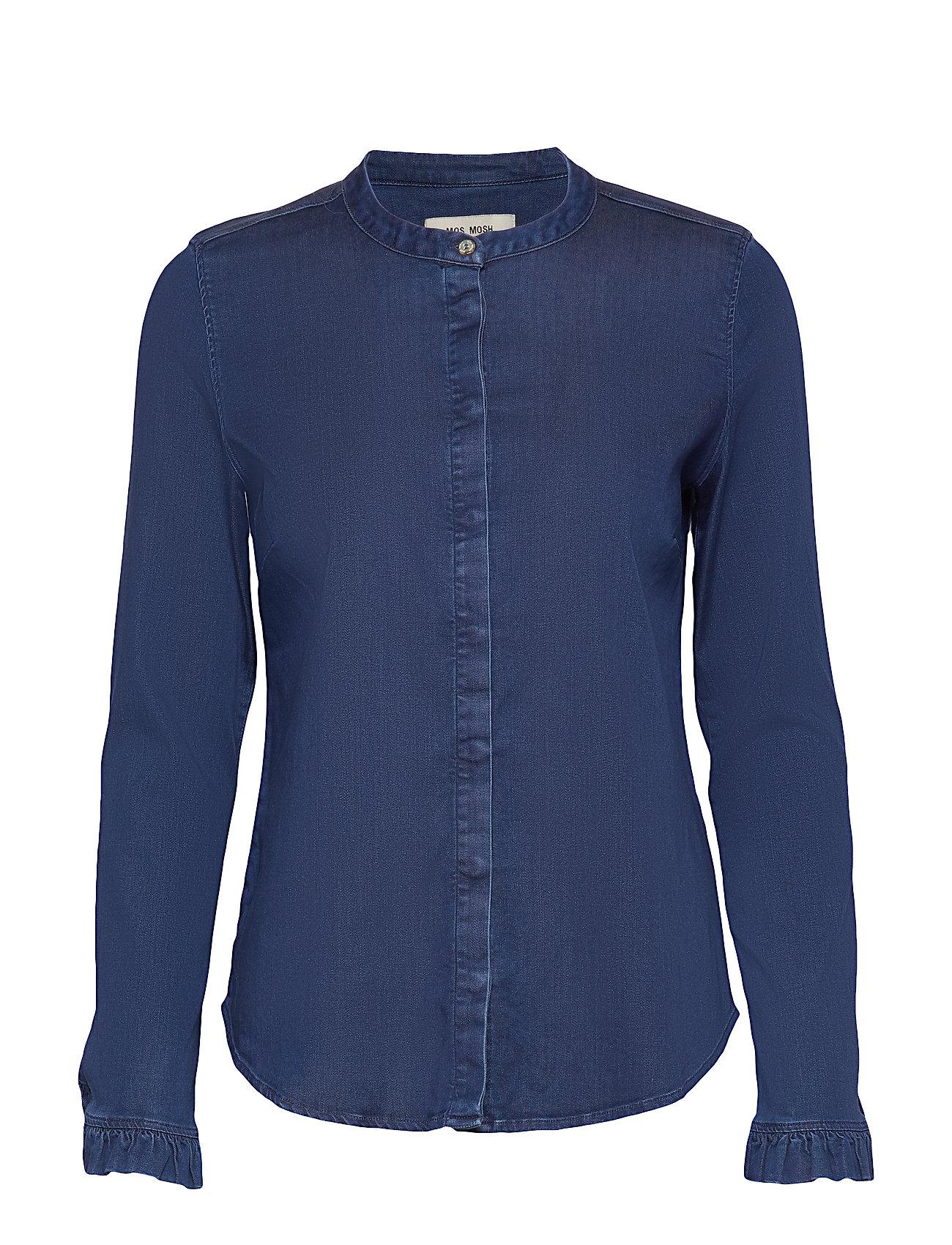 MOS MOSH Mattie Denim Shirt - BLUE