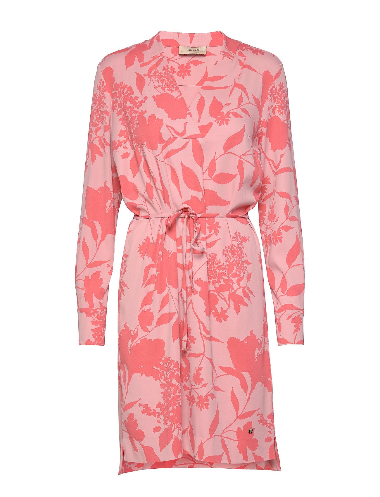 MOS MOSH Lipa Stencil Dress - SUGAR CORAL