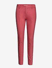 MOS MOSH - Abbey Night Pant Sustainable - broeken med skinny fit - holly berry - 0