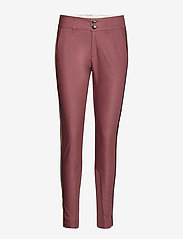 MOS MOSH - Blake Club Pant Sustainable - spodnie rurki - wild plum - 0
