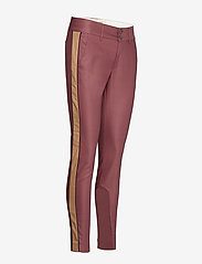 MOS MOSH - Blake Club Pant Sustainable - spodnie rurki - wild plum - 2