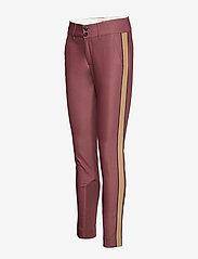 MOS MOSH - Blake Club Pant Sustainable - spodnie rurki - wild plum - 3