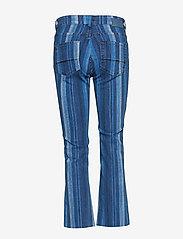 MOS MOSH - Simone Stripe Jeans - schlaghosen - blue stripe - 1