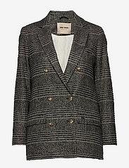 MOS MOSH - Mia York Jacket - matchende sett - black check - 0