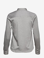 MOS MOSH - Tina Jersey Shirt - chemises à manches longues - light grey melange - 1