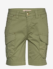 MOS MOSH - Cheryl Cargo Shorts - casual shorts - oil green - 0