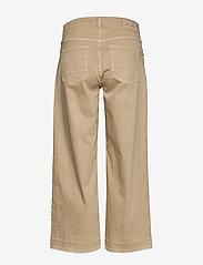 MOS MOSH - Cora G.D Jeans - broeken met wijde pijpen - safari - 1