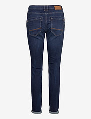 MOS MOSH - Etta Leather Jeans - straight jeans - blue - 1