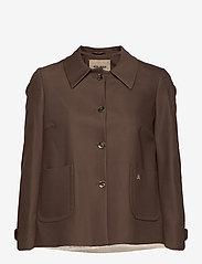 MOS MOSH - Amber Night Jacket - casual blazers - chocolate chip - 0