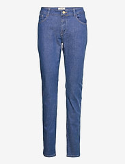 MOS MOSH - Naomi Cover Jeans - slim jeans - blue - 0