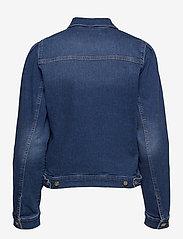 MOS MOSH - Aiden Puff Jacket - jeansjacken - blue - 1