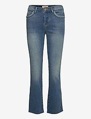 MOS MOSH - Ashley Braid Jeans - schlaghosen - blue - 0
