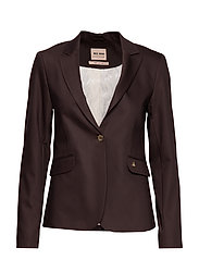 Blake Night Blazer Sustainable - COFFEE BEAN