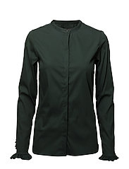Mattie Shirt - JADE GREEN
