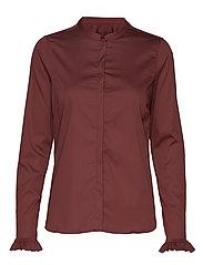 Mattie Shirt - WILD PLUM