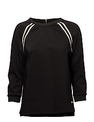 Levon Sport Blouse - BLACK