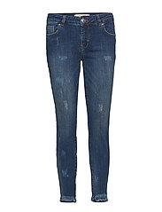 Sumner Deco Jeans - DARK BLUE DENIM