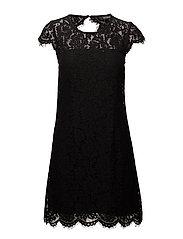 Goldie Lace Dress - BLACK