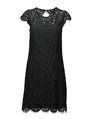 Goldie Lace Dress - JADE GREEN