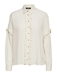 Raffey Silk Shirt - ECRU