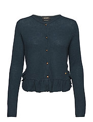 Alice Cashmere Cardigan - DARK TEAL