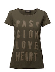 Crave Rivet Tee SS - ARMY