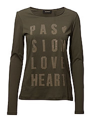 Crave Rivet Tee LS - ARMY
