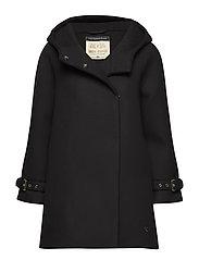 Ellen Japan Coat - BLACK