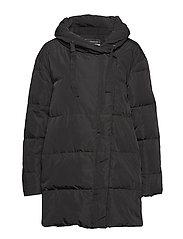 Leona Down Jacket - BLACK